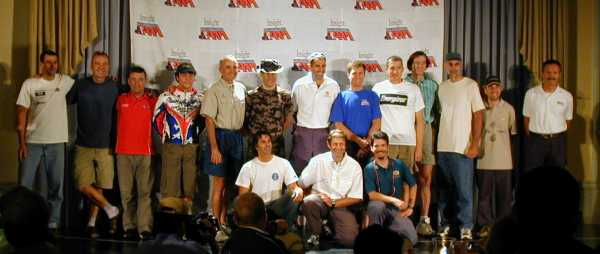 The 2004 RAAM Solo Riders