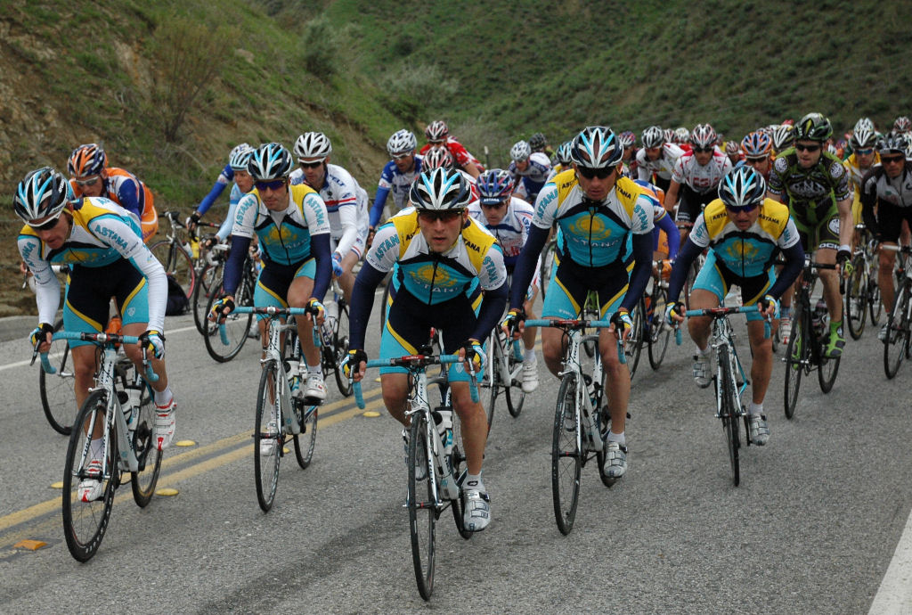 Team Astana coming right for me!!