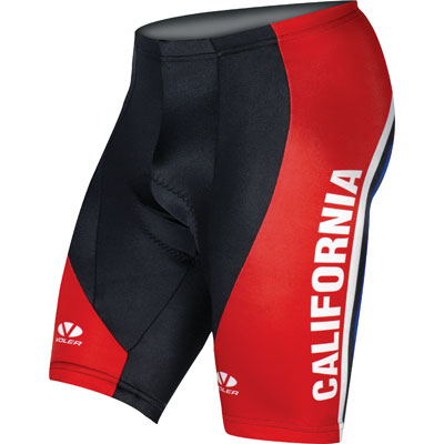 These shorts look great with the Yellow or Blue California Triple Crown products!!